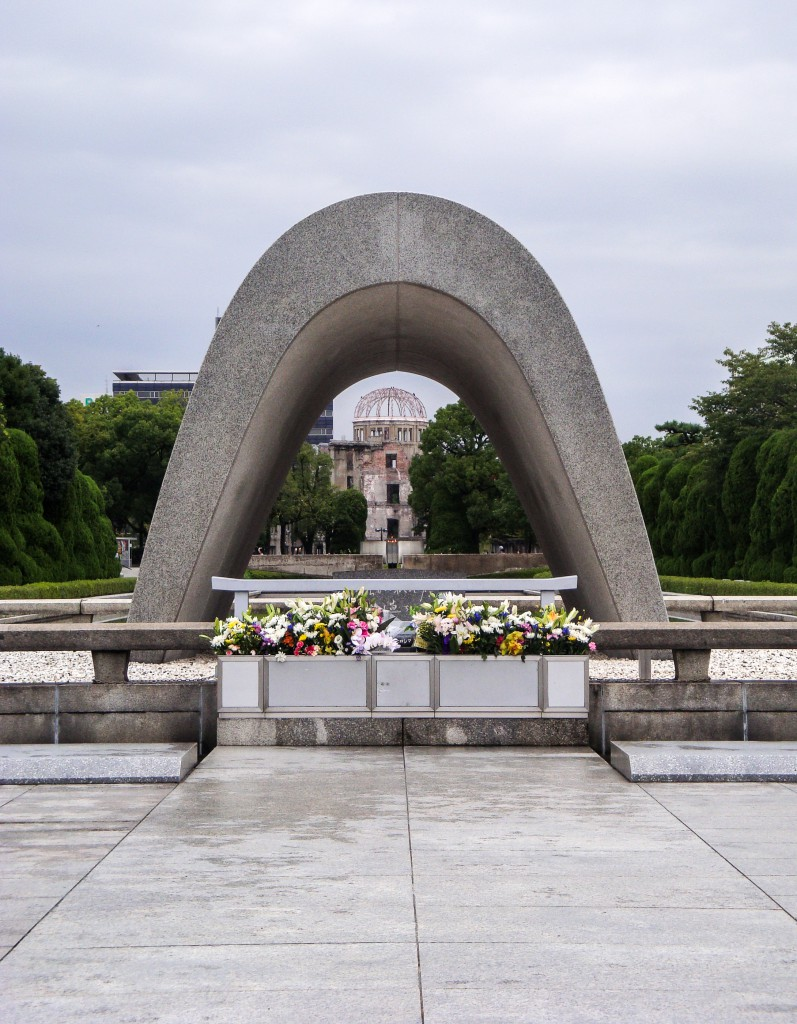 Monument in Hiroshima
